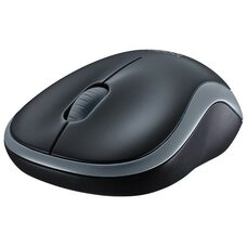 Мышь проводная Logitech Mouse M185 (серый)