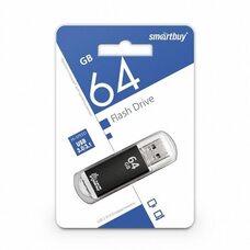 USB флеш-накопитель SmartBuy 64GB V-cut Series (черный) USB 3.0