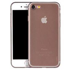 Чехол для iPhone 7 / 8 HOCO FROSTED series (серый-матовый) силиконовый