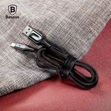 USB Дата-кабель TYPE-C для зарядки и синхронизации ANDROID BASEUS X-SHAPED CATXD-01 (черный)