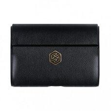 Чехол для Airpods Pro Nillkin Leather (Black)