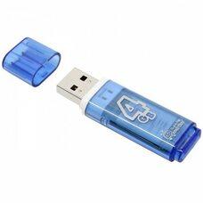 USB флеш-накопитель Smartbuy 4GB Glossy series (синий)
