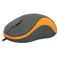 Мышь  DEFENDER  Accura MS-970 3 кнопки 1000 dpi  (серый+оранжевый)