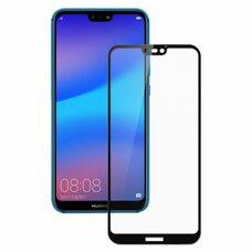 Защитное стекло для Huawei P20 Lite. (Чёрный)