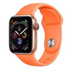 Ремешок для Apple Watch 38/40mm SPORT (упак. картон) №56 оранжевая папайя
