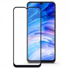 Защитное стекло для Samsung A40 (Чёрное)