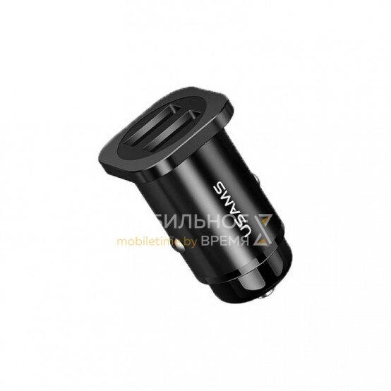 Автомобильное зарядное устройство USAMS US-CC054 C7 4.8A (черный)