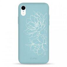 Чехол-накладка для iPhone XR Pump Silicone Minimalistic Case Floral GEAR