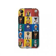 Чехол-накладка для Apple iPhone XR. Luxo. Animals. Коллаж с собачками. №6