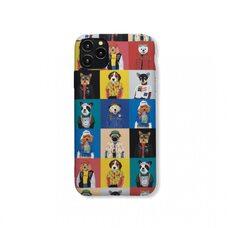 Детский чехол-накладка для модели гаджета Apple iPhone 11Pro Max. Luxo. Animals. Коллаж с собачками. №6