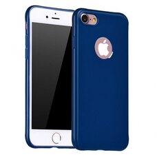 Чехол для iPhone 7 / 8 HOCO JUICE series (синий) силиконовый