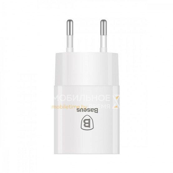 Сетевое зарядное устройство BASEUS LETOUR 2.1 A (E2A02) (белый)