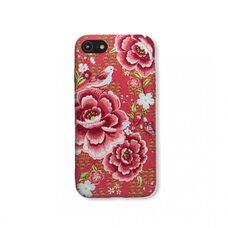 Чехол для Apple iPhone 7/8/SE2. Luxo. Flowers. На коралловом фоне силиконовый