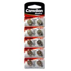 Батарейка для часов Camelion  AG12 / 386A / LR43