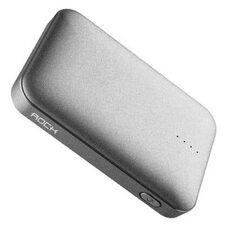 Портативное зарядное устройство ROCK P51 Mini 10000 mAh (gray)