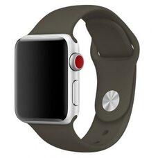 Ремешок для Apple Watch 38/40mm SPORT (упак. картон) №22 кофе