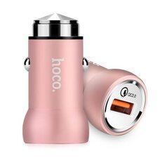 Автомобильное зарядное устройство HOCO Z4 (розовый)