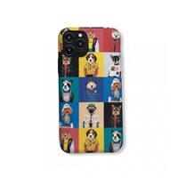 Чехол-бампер для Apple iPhone 11 Pro. Luxo. Animals. Коллаж с собачками. №6