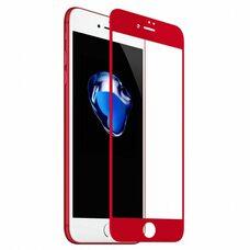Защитное стекло для Apple iPhone 7/8/SE2 (Красный)