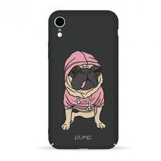 Чехол-накладка для iPhone XR Pump Tender Touch Case Mops (черный) SOFT