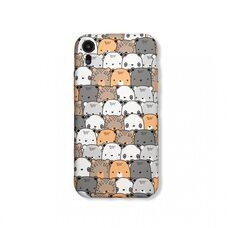 Чехол-накладка для Apple iPhone XR. Luxo. Animals. Медвежата №04 SMART