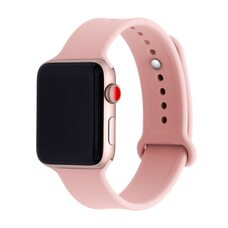 Ремешок для Apple Watch 42/44mm SPORT (упак. картон) №19 розовый-песок