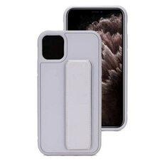 Чехол-подставка для Samsung A41 с магнитом серый