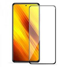 Защитное стекло для Xiaomi POCO X3 Full Glue  (черный)