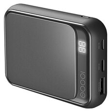 Портативное зарядное устройство ROCK P63 Mini 10000 mAh (black)