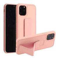 """Чехол-подставка для iPhone 11 PRO MAX 6.5"""" с магнитом розовый песок"""