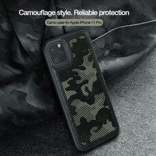 Непрозрачный черных чехол-накладка для модели гаджета Apple iPhone 11 Pro Nillkin Camo Case
