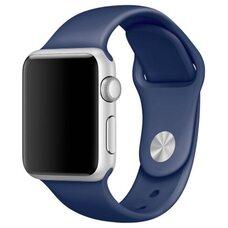Ремешок для Apple Watch 42/44mm SPORT (упак. картон) №20 темно-синий