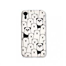 Чехол-накладка для Apple iPhone XR. Luxo. Animals. Пандочки. №09