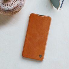 Чехол-книга для Huawei P40 Lite Nillkin Qin (brown)