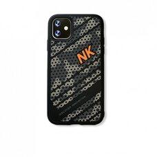 Чехол бампер для Apple iPhone 11 Nillkin Striker Case (черно-серый)