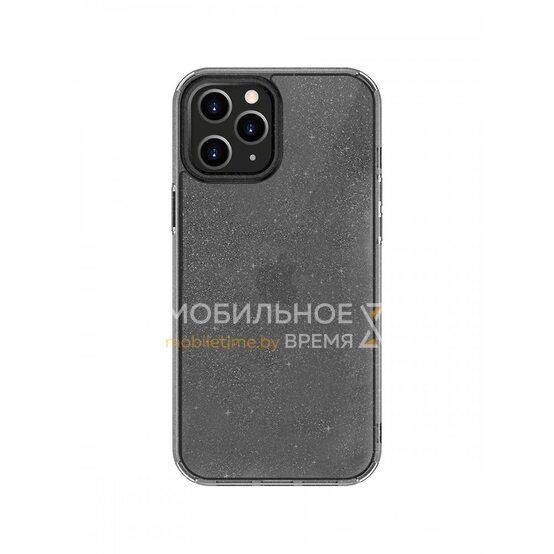 Чехол-накладка для iPhone 12/12 Pro (6.1) Uniq LifePro Tinsel Anti-microbial Smoke