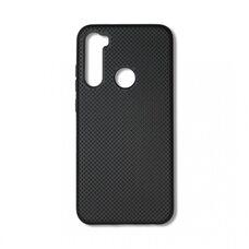 Чехол  для Xiaomi Redmi Note 8. Силиконовый с перфорацией. (Чёрный)