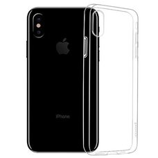 Пластиковый чехол-накладка для iPhone X HOCO LIGHT SERIES (прозрачный)