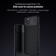 Чехол-бампер для Apple iPhone 11 Pro Nillkin CamShield Case (Black)