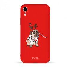 Чехол-накладка для iPhone XR Pump Tender Touch Case Christmas Dog