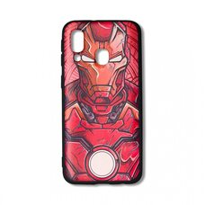 Чехол для Samsung Galaxy A40. (Iron man)