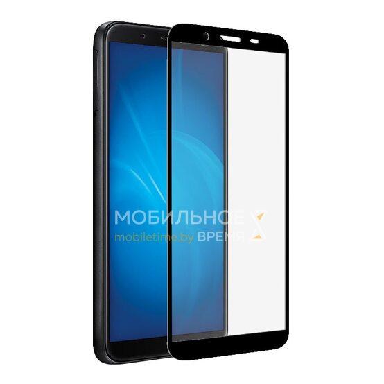Защитное стекло для Samsung A01 Core (Чёрный)