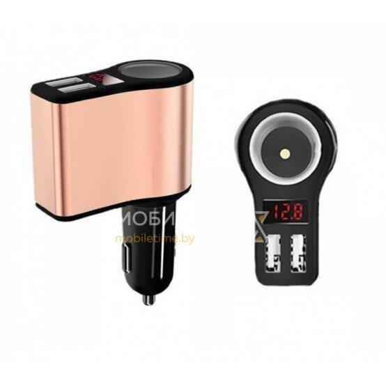 Автомобильное зарядное устройство HOCO Z10 (черный)