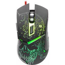 Мышь DEFENDER  игровая Alfa GM-703L оптика,7кнопок,3200dpi