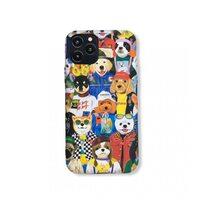 Детский силиконовый чехол-накладка для Apple iPhone 11 Pro. New Luxo. Animals. Собачки. №7
