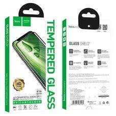 Защитное стекло для Apple iPhone 7 / 8 Hoco A12 (Black)