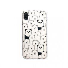 Чехол-накладка для Apple iPhone Xs Max. Luxo. Animals. Пандочки. №09