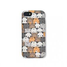 Чехол-накладка для Apple iPhone 7/8/SE2. Luxo. Animals. Медвежата №04