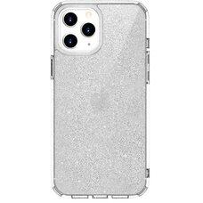 Чехол-накладка для Apple iPhone 12 Pro Max (6.7) Uniq LifePro Tinsel Anti-microbial Clear