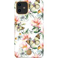 Чехол для iPhone 11R KINGXBAR BLOSSOM (Peach Flower)
